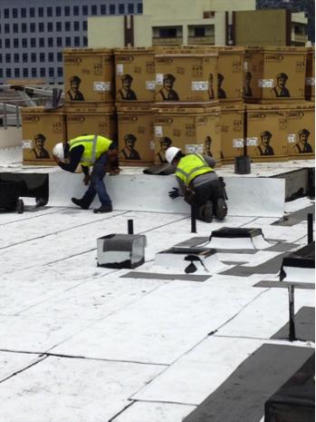 BUR Capsheet - Cool Roof