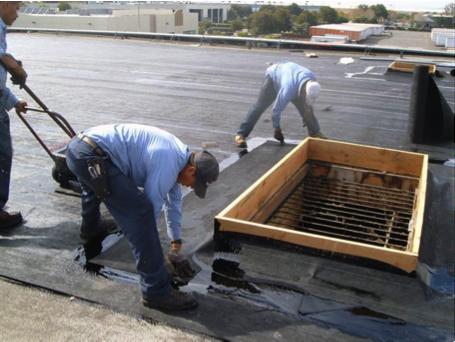 BUR Roofing Piles