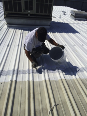 Metal Roof Restoration Process