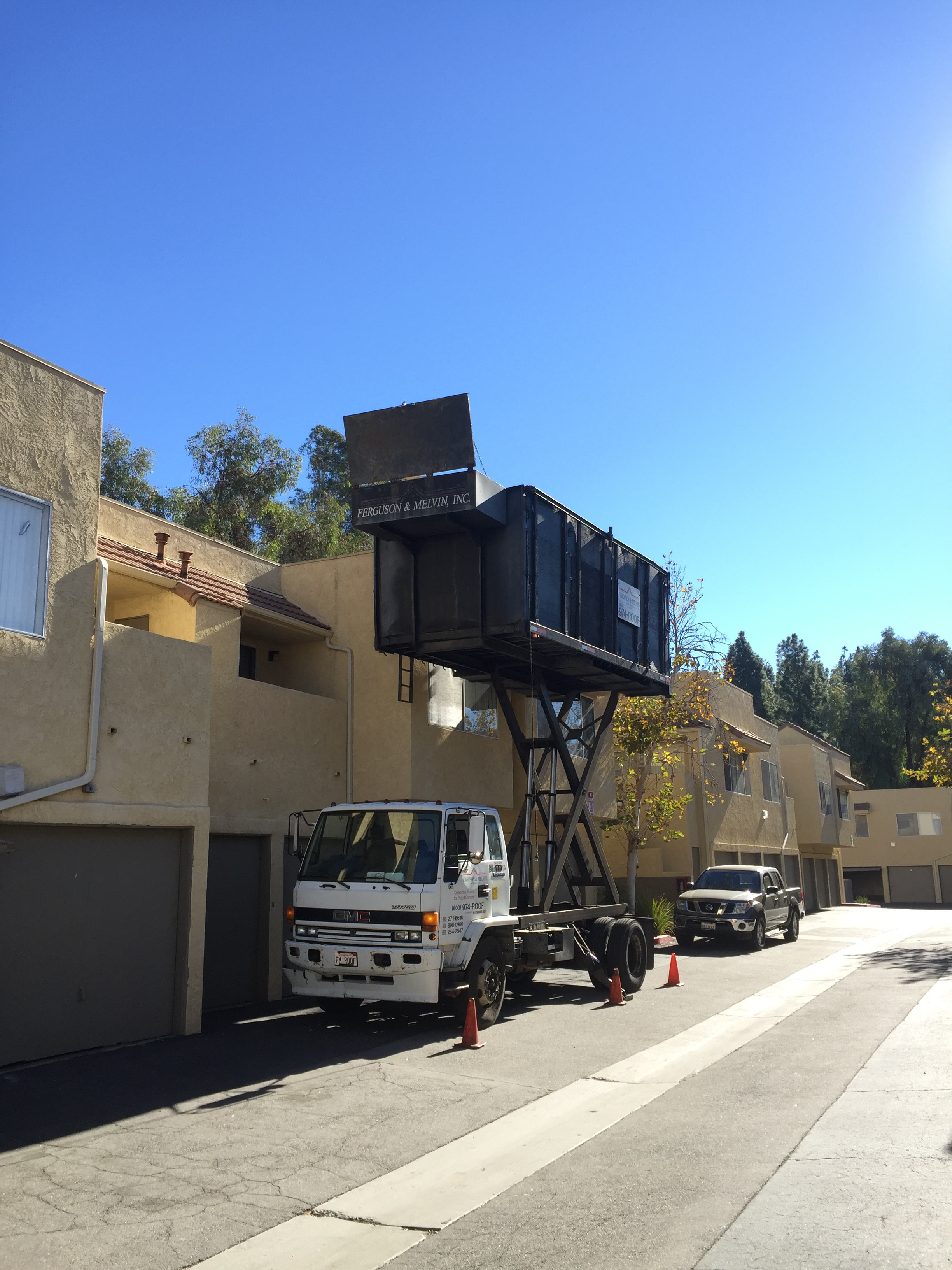HOA roof removal
