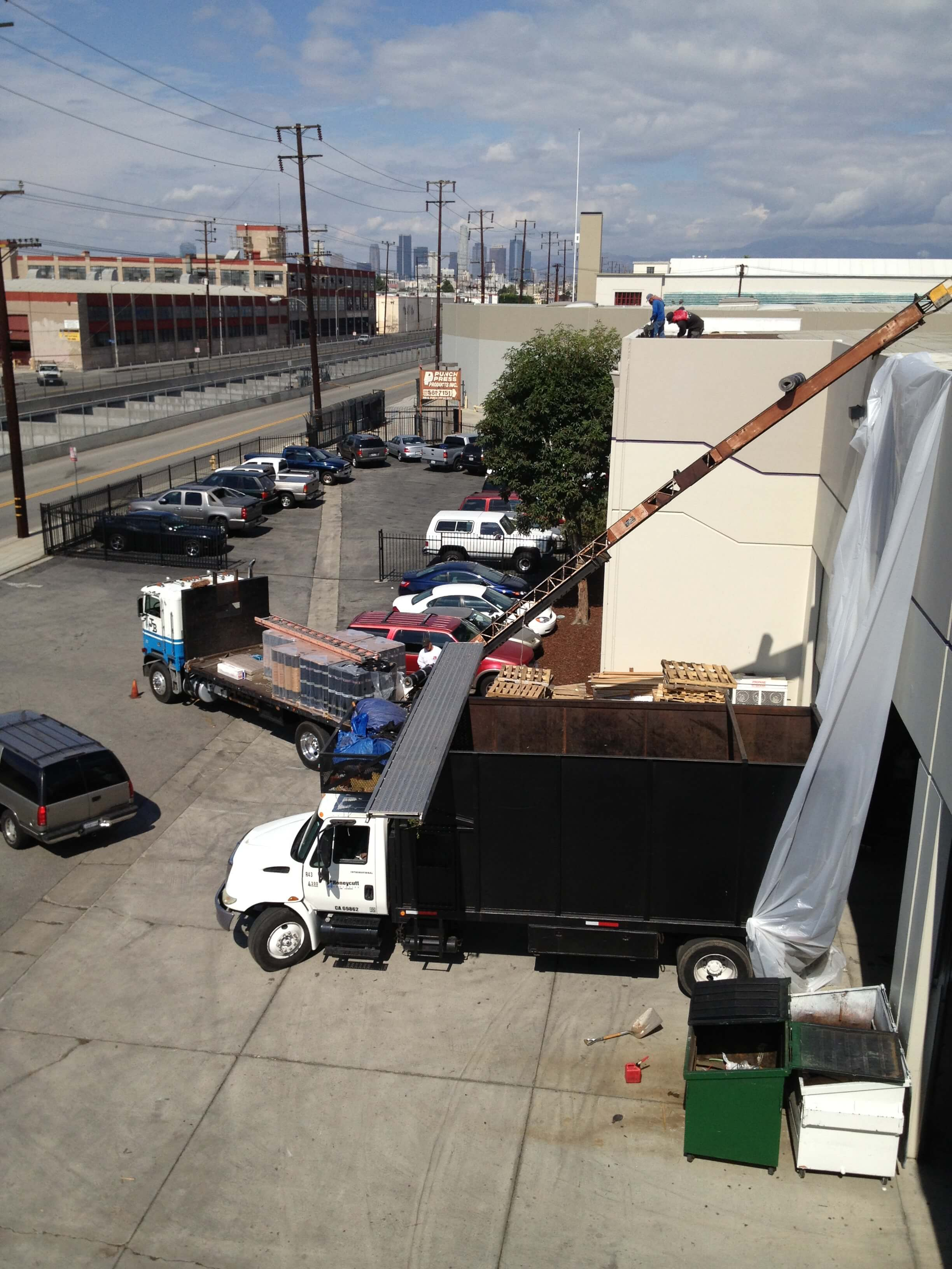 Industrial-roof-removal
