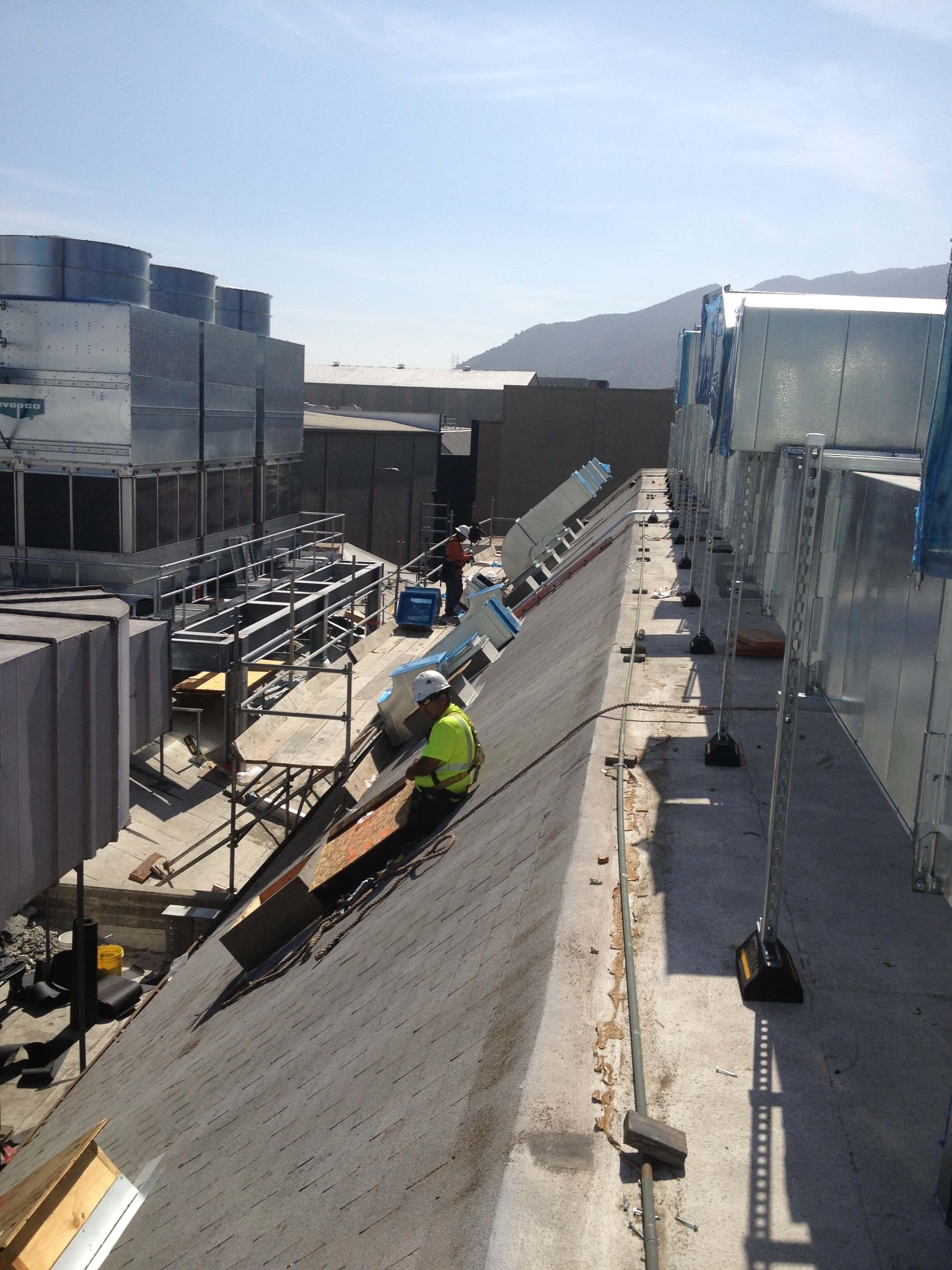 Industrial-roof-work